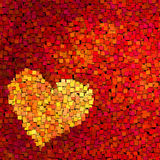 Heart background. Royalty Free Stock Photos