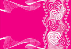 Heart background Stock Image