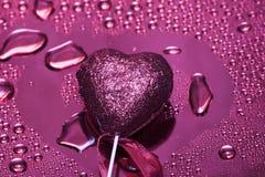 Heart on background Stock Photo