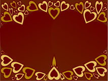 Heart background. For valentine, wedding, anniversary, etc Stock Photography