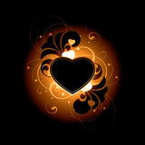 Heart background Royalty Free Stock Images