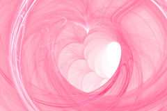 Heart background abstract. Background with heart in the center - concept of love and desire. good for valentine's day Stock Photo