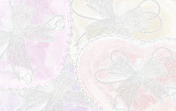 Heart background. Heart beautiful color wite soft  background Royalty Free Stock Images