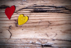 Heart Background with Copy Space Stock Photo