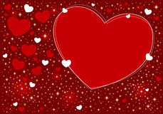 Heart background design Stock Photos