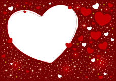 Heart background design Royalty Free Stock Images
