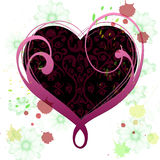 Heart Background Means Valentines Day And Abstract Royalty Free Stock Photos