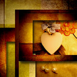 Heart background Stock Photography