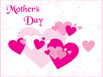 Heart background for mother day Royalty Free Stock Photo