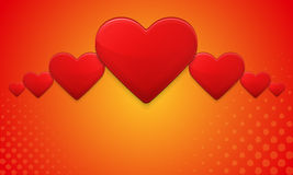 Heart background Royalty Free Stock Image