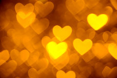 Heart background photo golden color. Hearts background photo golden color Royalty Free Stock Photos