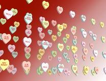 Heart background. Stock Image