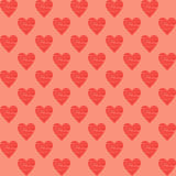 Heart Background. Seamles Pattern Royalty Free Stock Photo