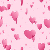 Heart background seamless tile Stock Image