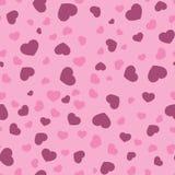 Heart background. Seamless pattern stock illustration