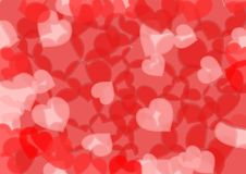 Heart background texture Royalty Free Stock Image