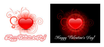 Heart background for valentine's day Royalty Free Stock Photography