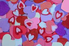 Heart Background for Valentine's Day Stock Photography
