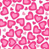 Heart background. valentine texture Stock Photos