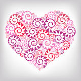Heart Background. Vector Royalty Free Stock Photo