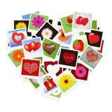 Heart Background. Vector Stock Photos