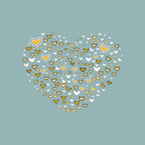 Heart background. Royalty Free Stock Photos