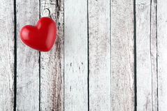 Heart background. Heart on wood background with copy space Royalty Free Stock Images