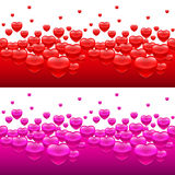 Heart backgrounds Royalty Free Stock Images