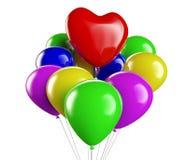 Heart Ballon. Three-dimensional Shape Stock Photography