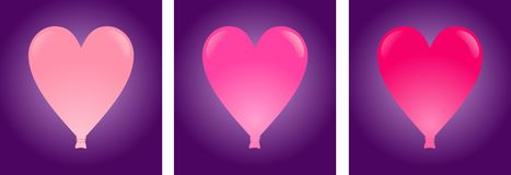 Heart balloon Royalty Free Stock Image