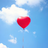 Heart Balloon Royalty Free Stock Images