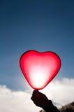 Heart balloon Stock Image