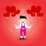 Heart Balloon Stock Photography