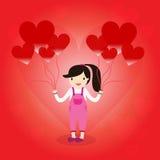 Heart Balloon Royalty Free Stock Photography