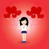 Heart Balloon Stock Photo