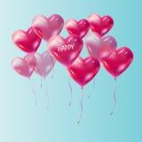 Heart balloon Stock Images