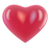 Heart Balloon. Heart shape balloon isolated on white. Clipping path available for easy selection Stock Photos