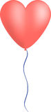 Heart balloon vector Royalty Free Stock Images