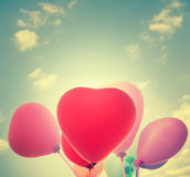Heart Balloons Royalty Free Stock Photography