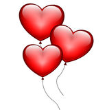 Heart Balloons Royalty Free Stock Photos