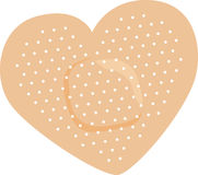 Heart Bandage Royalty Free Stock Photo
