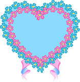 Heart, banner Royalty Free Stock Photos