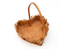 Heart basket Stock Photography