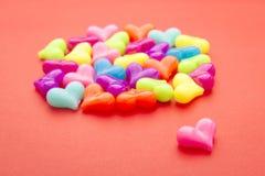 Heart bead alone Royalty Free Stock Photography