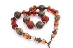 Heart beads Stock Image