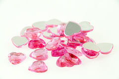 Heart beads Stock Image