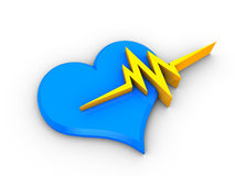 Heart beat Stock Photography