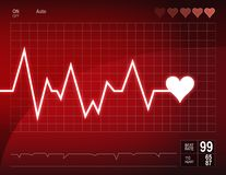 Free Heart Beat Royalty Free Stock Photography - 15749277
