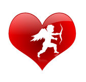 Heart Beat. Enjoy and happy valentine's day every one Stock Images