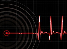 Heart beat Stock Photography